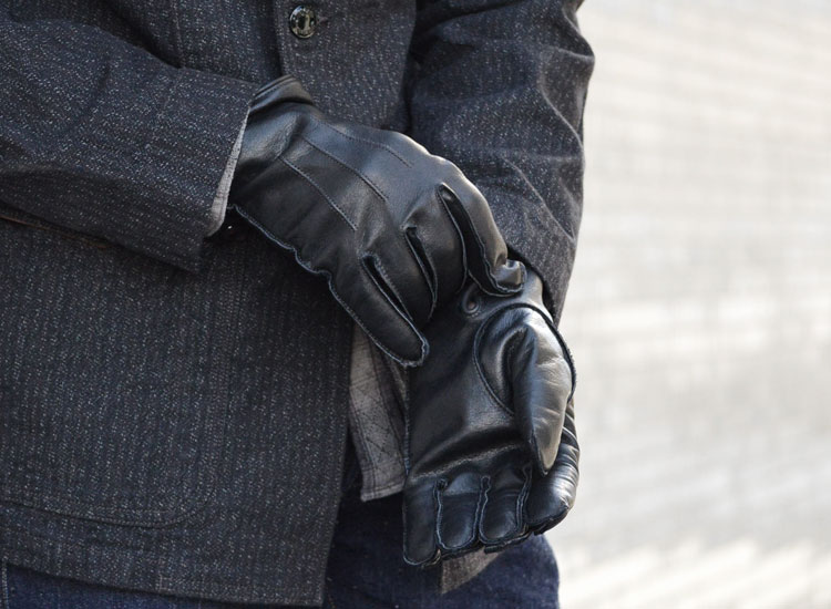 All Men Enjoy Black Leather Gloves